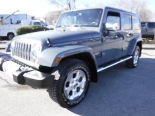 Used 2014 Jeep Wrangler Unlimited Sahara 4WD for sale in Burnaby, BC