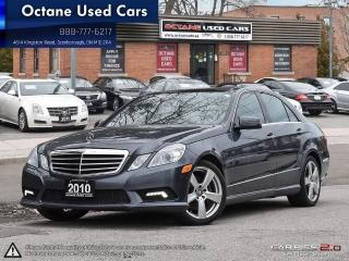 Used 2010 Mercedes-Benz E 350 Luxury 4MATIC Accident Free! for sale in Scarborough, ON