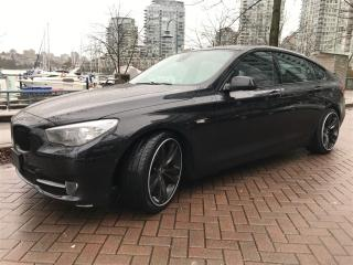 Used 2010 BMW 550i Gran Turismo LOCAL,NO ACCIDENT,DVD,NAV,BACK UP AND 360' CAMERA for sale in Vancouver, BC