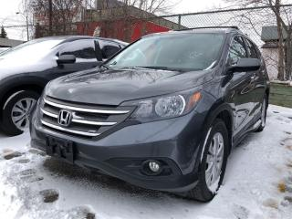 Used 2013 Honda CR-V Touring, low mileage, clean carproof report for sale in Toronto, ON