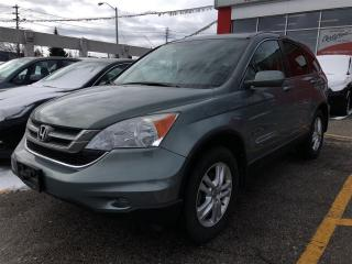 Used 2011 Honda CR-V EX, FWD, low kilometers, clean carproof report for sale in Scarborough, ON