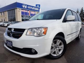 Used 2017 Dodge Grand Caravan Crew Plus JUST ARRIVED CALL US for sale in Mississauga, ON