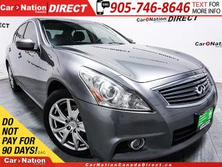 Used 2012 Infiniti G37 X Sport| AWD| SUNROOF| BACK UP CAMERA| LEATHER| for sale in Burlington, ON