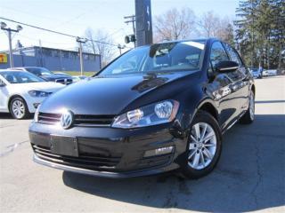 Used 2015 Volkswagen Golf 2.0 TDI ~ DIESEL ~ ONE OWNER ~ 49,000KMS !!! for sale in Burlington, ON