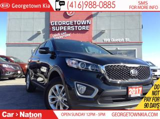 Used 2017 Kia Sorento 2.4L LX | ONE OWNER| CLEAN CARPROOF| HTD SEATS for sale in Georgetown, ON