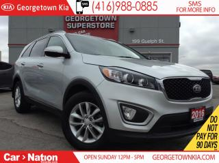 Used 2016 Kia Sorento LX+ TURBO ONE OWNER| FULLY SERVICED| LIKE NEW for sale in Georgetown, ON