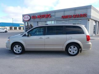 Used 2015 Dodge Caravan Crew Plus for sale in Owen Sound, ON