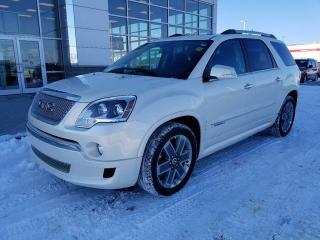 Used 2012 GMC Acadia Denali for sale in Peace River, AB