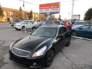 Used 2011 Infiniti G37X  Sport for sale in Toronto, ON