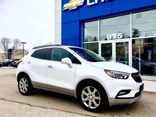 Used 2017 Buick Encore Essence Awd,cuir,nav for sale in Gatineau, QC