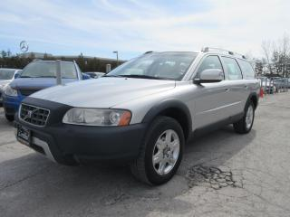 Used 2007 Volvo XC70 CROSS COUNTRY / ACCIDENT FREE / SERVICE HISTORY for sale in Newmarket, ON