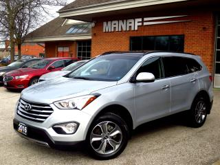 Used 2016 Hyundai Santa Fe XL 7 seater Leather Panoramic Loaded Cert for sale in Concord, ON
