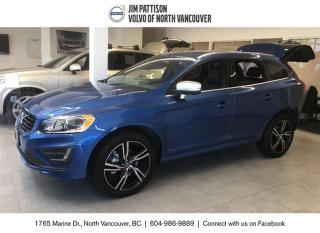 Used 2017 Volvo XC60 T6 AWD R-Design for sale in North Vancouver, BC