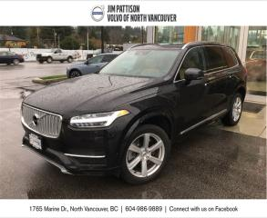Used 2017 Volvo XC90 Hybrid T8 AWD Hybrid Inscription for sale in North Vancouver, BC