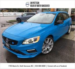 Used 2017 Volvo V60 Polestar for sale in North Vancouver, BC