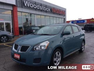 Used 2009 Pontiac Vibe Base  - $70.73 B/W - Low Mileage for sale in Woodstock, ON