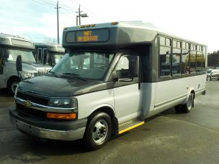Used 2012 Chevrolet Express G4500 21 Passenger Bus with Wheelchair Accessibility for sale in Burnaby, BC
