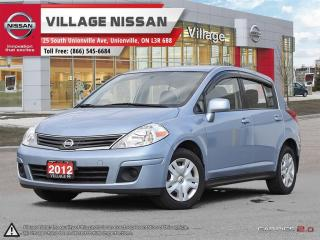 Used 2012 Nissan Versa 1.8 S for sale in Unionville, ON