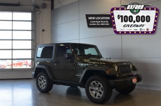 Used 2015 Jeep Wrangler Rubicon - V6, 4x4, Bluetooth, Heated Seats for sale in London, ON
