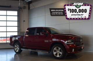 Used 2017 Dodge Ram 1500 Sport - Sunroof, Back Up Cam, Heated Seats for sale in London, ON