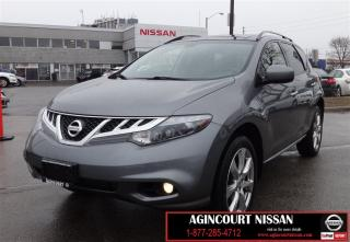 Used 2014 Nissan Murano Platinum |NAVIGATION|BLIND SPOT WARNING| PANO for sale in Scarborough, ON
