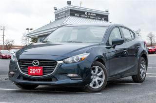 Used 2017 Mazda MAZDA3 GX   BACKUP CAMERA   BLUETOOTH   CLEAN CARPROOF   for sale in Mississauga, ON
