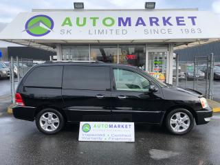 Used 2007 Ford Freestar Limited DVD! LEATHER FINANCE IT! for sale in Langley, BC