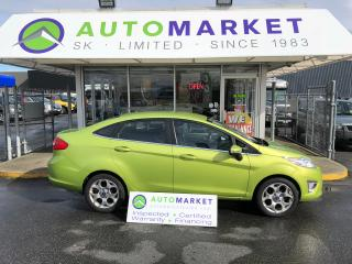 Used 2012 Ford Fiesta SEL Sedan WE FINANCE ANYONE! for sale in Langley, BC