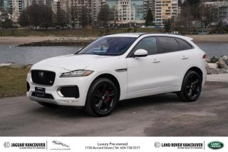 Used 2017 Jaguar F-PACE S AWD *Certified Pre-Owned! for sale in Vancouver, BC