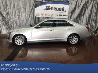 Used 2015 Cadillac CTS AWD Performance for sale in Rivière-Du-Loup, QC