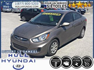 Used 2012 Hyundai Accent Gl, Cruise Control for sale in Gatineau, QC