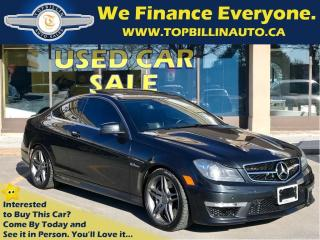 Used 2013 Mercedes-Benz C-Class 63 AMG for sale in Concord, ON