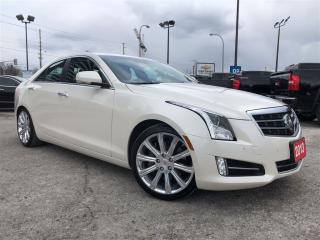 Used 2013 Cadillac ATS Premium 3.6 Nav Driver Aware Pkg HUD Roof for sale in Thornhill, ON