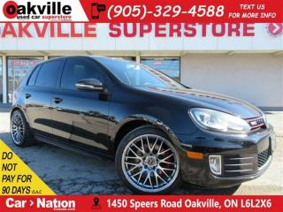 Used 2010 Volkswagen Golf GTI LEATHER   SUNROOF   NAVI   MINT CAR   for sale in Oakville, ON