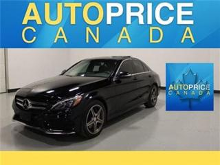 Used 2015 Mercedes-Benz C-Class C300 NAVI PANOROOF AMG WHEELS for sale in Mississauga, ON