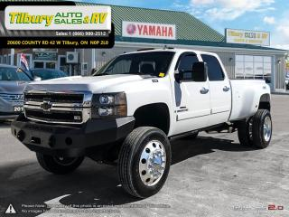 Used 2008 Chevrolet Silverado 3500 *Dually. V8. Duramax Diesel. Back Up Cam* for sale in Tilbury, ON