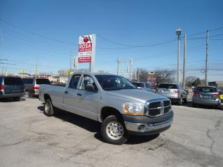 Used 2006 Dodge Ram 1500 4X4 AUTO 4 DR  LOW KM LONG BOX 2 new tire no rust for sale in Oakville, ON
