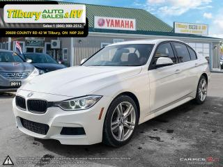 Used 2013 BMW 3 Series 335i xDrive. LUXURY - Red interior. 300 HP for sale in Tilbury, ON