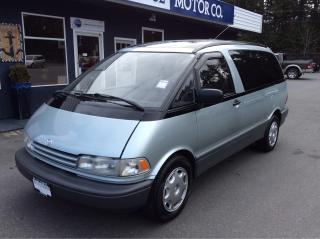 Used 1991 Toyota Previa LE for sale in Parksville, BC