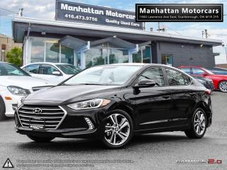 Used 2017 Hyundai Elantra GLS |AUTO|FAC.WARRANTY|ROOF|ALLOY|20000KM for sale in Scarborough, ON