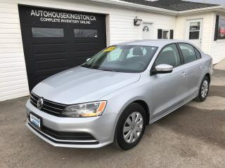 Used 2015 Volkswagen Jetta Trendline for sale in Kingston, ON