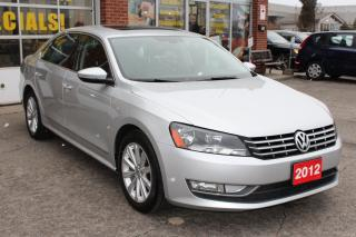 Used 2012 Volkswagen Passat 2.5L Highline-Leather-Navigation-Low KMs for sale in Oakville, ON