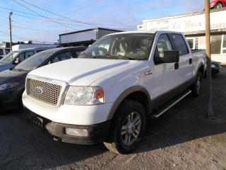Used 2004 Ford F-150 Lariat 4x4 Short Box 4DR for sale in Brampton, ON