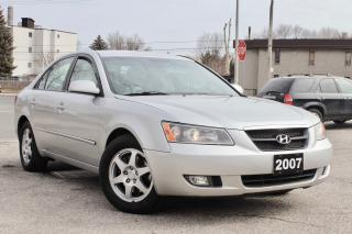 Used 2007 Hyundai Sonata GL W/XM for sale in Scarborough, ON