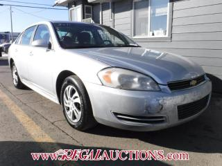 Used 2011 Chevrolet IMPALA LS 4D SEDAN 3.5L for sale in Calgary, AB