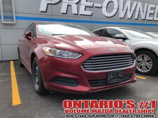 Used 2014 Ford Fusion SE HEATED SEATS/BACK UP CAMERA/BLUETOOTH-Toronto for sale in North York, ON