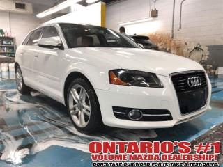 Used 2012 Audi A3 2.0T Progressiv Front Track/Sunroof-TORONTO for sale in North York, ON