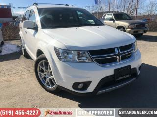 Used 2016 Dodge Journey R/T   AWD   7PASS   LEATHER   ONE OWNER for sale in London, ON