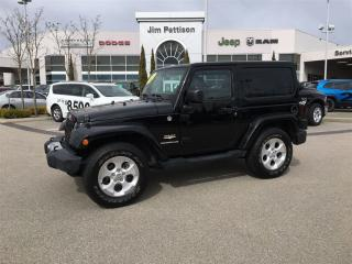 Used 2014 Jeep Wrangler Sahara for sale in Surrey, BC