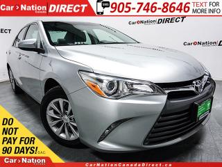 Used 2015 Toyota Camry LE| BACK UP CAMERA| TOUCH SCREEN| for sale in Burlington, ON